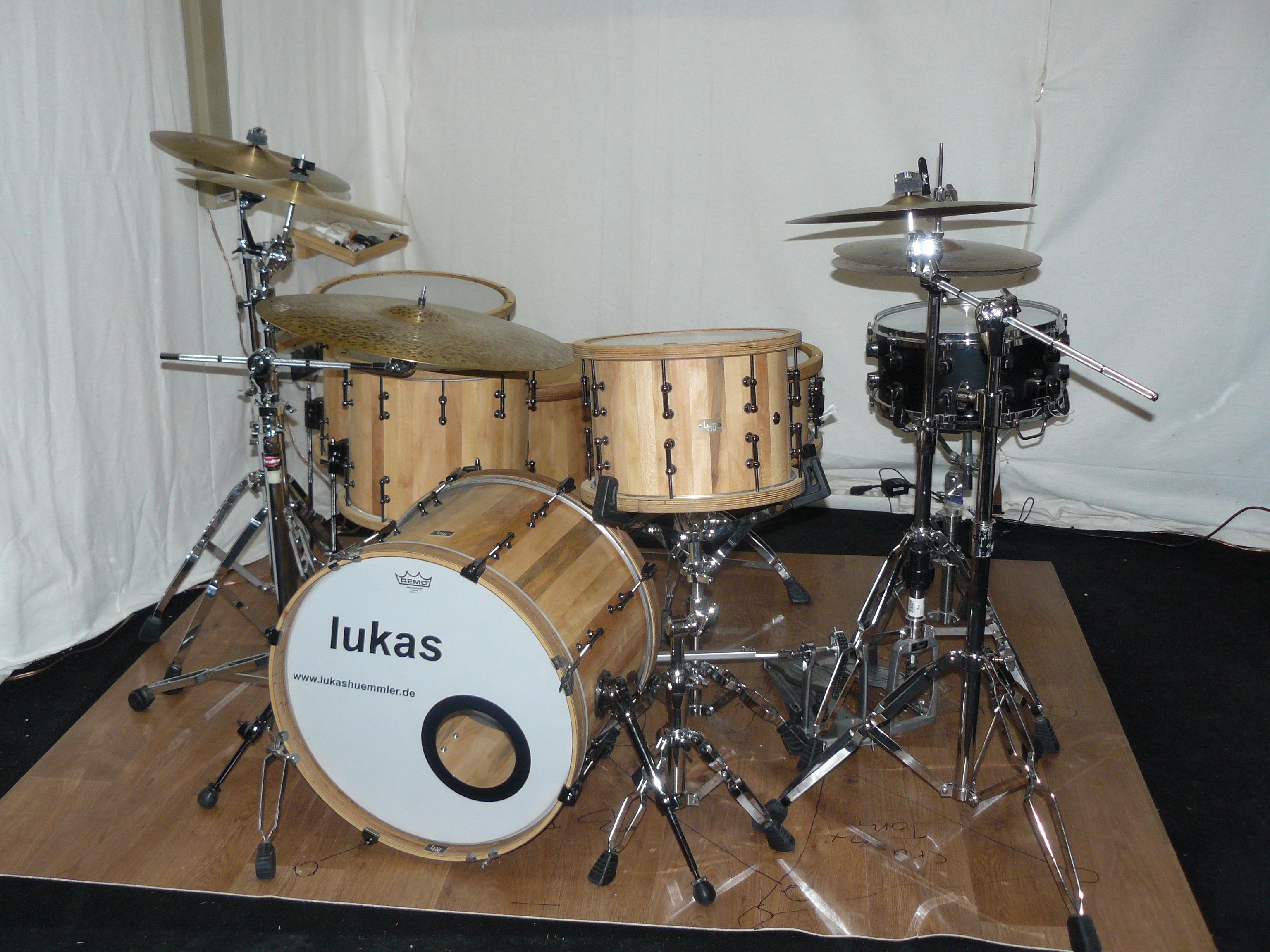meine drumsets lukas h mmler. Black Bedroom Furniture Sets. Home Design Ideas